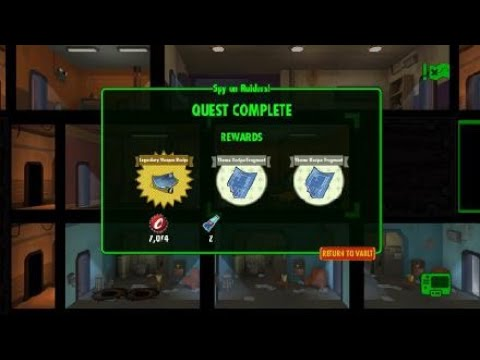 Fallout Shelter - Spy On Raiders Pt 10