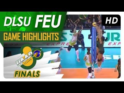 UAAP 80 WV Finals Game One: DLSU vs. FEU   Game Highlights   April 28, 2018