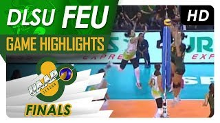 UAAP 80 WV Finals Game One: DLSU vs. FEU | Game Highlights | April 28, 2018