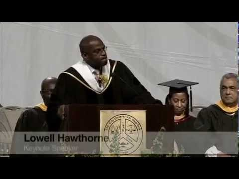 Medgar Evers College, CUNY 42nd Commencement Exercise - Dr. Lowell Hawthorne