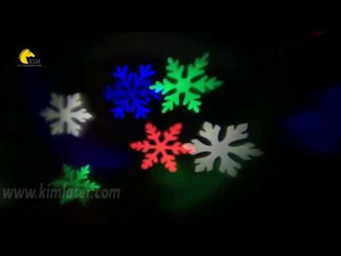 Outdoor LED Colorful Snowflake Garden Light/lawn Light/decoration Light/holiday Lighting