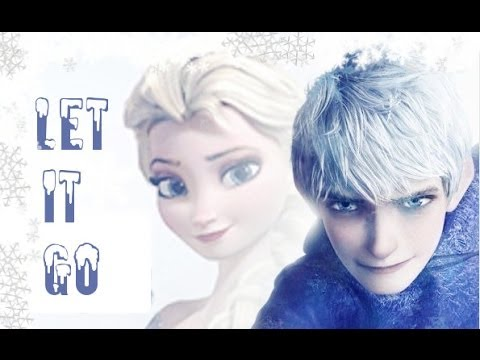 Jack Frost And Elsa Let It Go