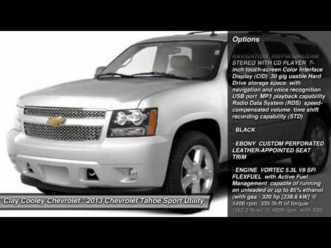 2013 CHEVROLET TAHOE IRVING, TX DR373377. Clay Cooley Chevrolet