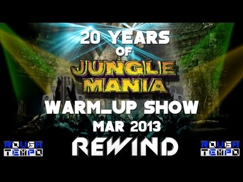 JUNGLE MANIA TAKEOVER with DEVIOUS D - JUMPING JACK FROST & THE RAGGA TWINS - March 2013