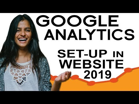 How To Setup Google Analytics   In Website 2019