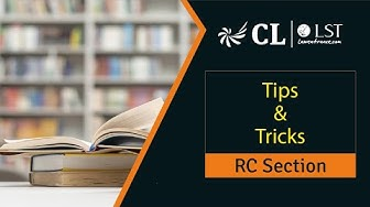 Tips & Tricks to Approach RC Section | CLAT 2020