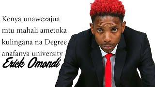 Kenya universities are tribal, Erick Omondi