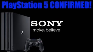 OMG! Sony Actually Confirms The PlayStation 5!