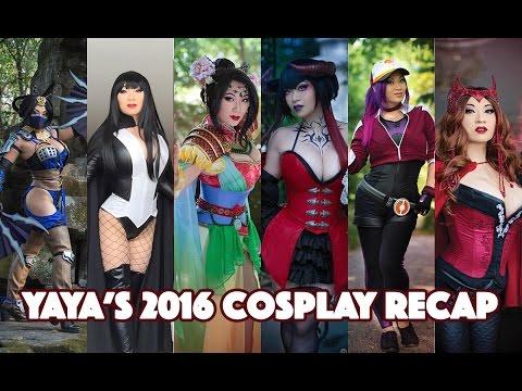 Yaya Han  2016 Cosplay Recap