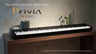 Privia PX-S1000 Feature Introduction Video | CASIO