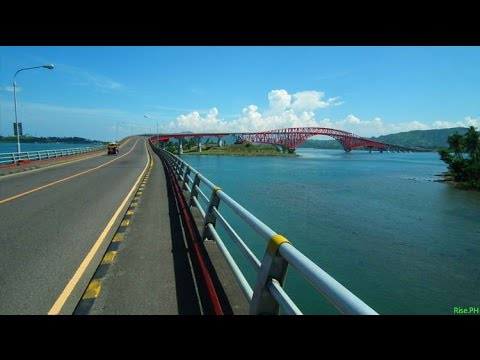 Motorcycle Diaries - FAMOUS San Juanico Bridge in the Philippines