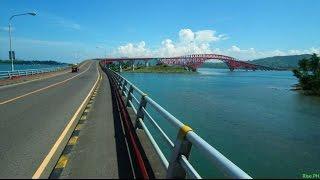 Motorcycle Diaries - FAMOUS San Juanico Bridge in the Philippines