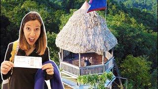 Surprising My Wife with DREAM BIRTHDAY TRIP! *Rainforest Resort*