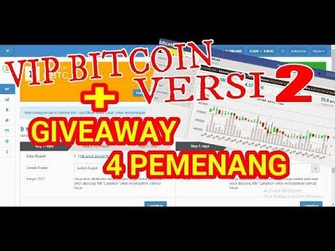 Wow! VIP Bitcoin Versi 2 + GiveAway 4 Pemenang.