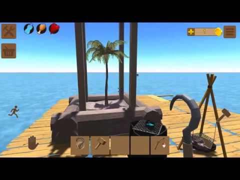 Oceanborn: Raft Survival на Android рассвет и первые впечатления от игры