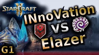 Starcraft 2 LotV - INnoVation vs Elazer [TvZ] G1 - Legacy of the void 2016 tournament