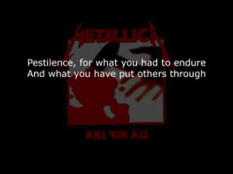 Metallica - The Four Horsemen KARAOKE