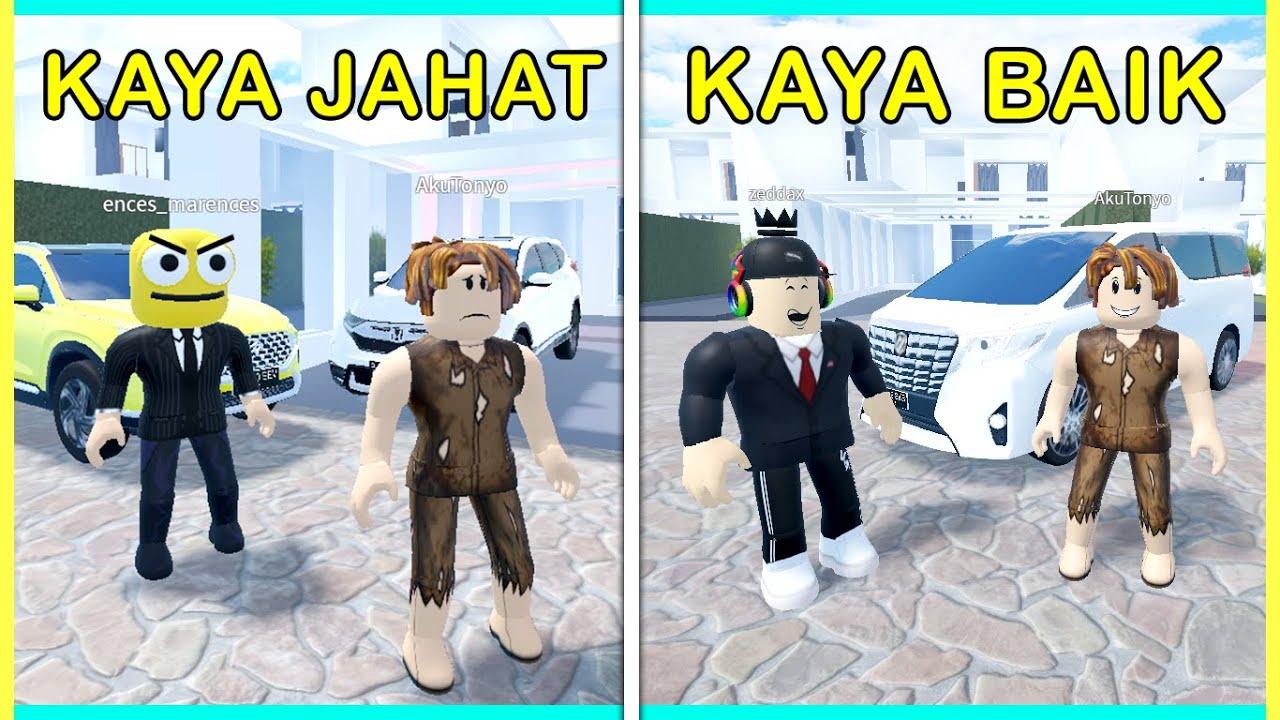 ENCES JADI ORANG KAYA SOMBONG, AKHIRNYA KENA KARMA!! HAHA.. (Roblox Car Driving Indonesia)