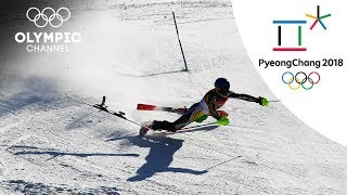 South Africas Connor Wilson unlucky Slalom Event| Day 13 | Winter Olympics 2018 | PyeongChang