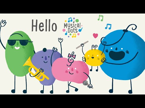 Hello | Pop Songs for Kids | Friendship Song | Nursery Rhyme Alternative | Musical Dots