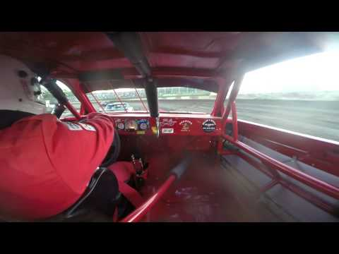 **CAR ROLLED** 9-13-14 Peoria Speedway Street Stock #4B Budweiser Car