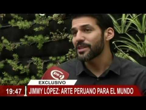Jimmy López on TV Perú