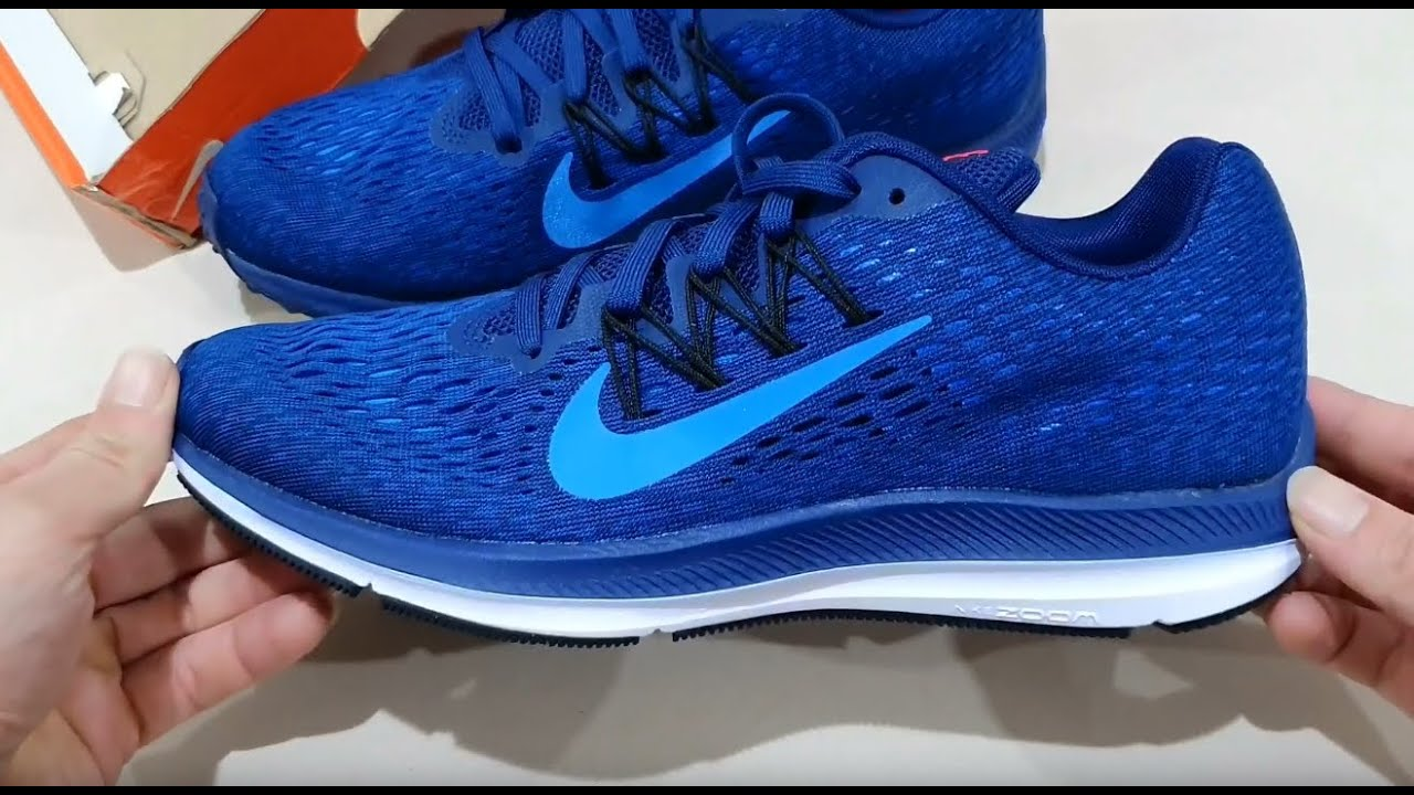 Unboxing NIKE AIR ZOOM WINFLO 5 WORLD