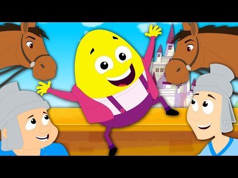 Humpty Dumpty Sat On A Wall | Nursery Rhymes | Baby Rhymes | Kids Songs