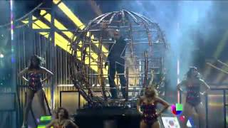Pitbull cantó Cómo yo le doy en Premios Juventud 2014