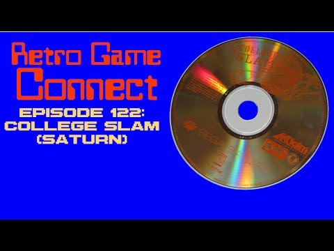 Retro Game Connect #122: College Slam (Saturn)
