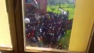 Ethiopia : Students protest in Metu University , Illibabor