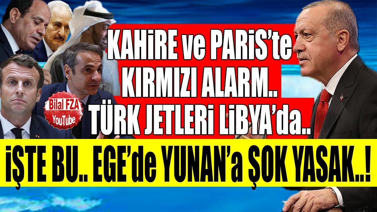 Fransa Mısırda Alarm: Türkler Libyada Öyle Birşeye Hazırlanıyor ki