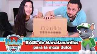 HAUL MariaLunarillos | Mesa dulce de Tián | PAW PATROL