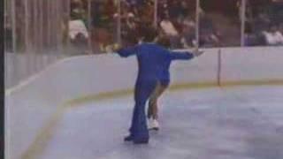 Liz & Peter Cain - 1980 Olympic Games - Short Program