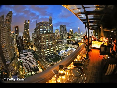 Speakeasy Rooftop Bar at Muse Hotel Bangkok