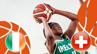 Ireland v Switzerland - Full Game - FIBA U16 Women's European Championship Division B 2018