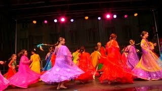 Bollywood Dance in Rosenheim Germany on Stadtfest 2013 - Bollywood-Arts Official