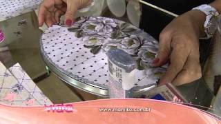 Veja como decorar uma lata com a técnica scrapdecor