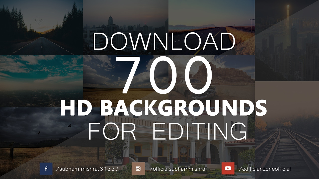 Hd Backgrounds For Photo Editing: How To Download 700 Free Manipulation Background For