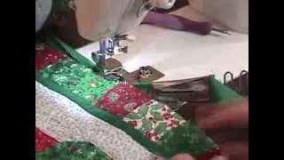 How to use the KL-87 quilt binder attachment for sewing machines
