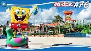 SPONGEBOB theme PARK! #76-ROBLOX
