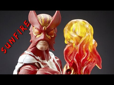 Sunfire Marvel Legends Serie Warlock
