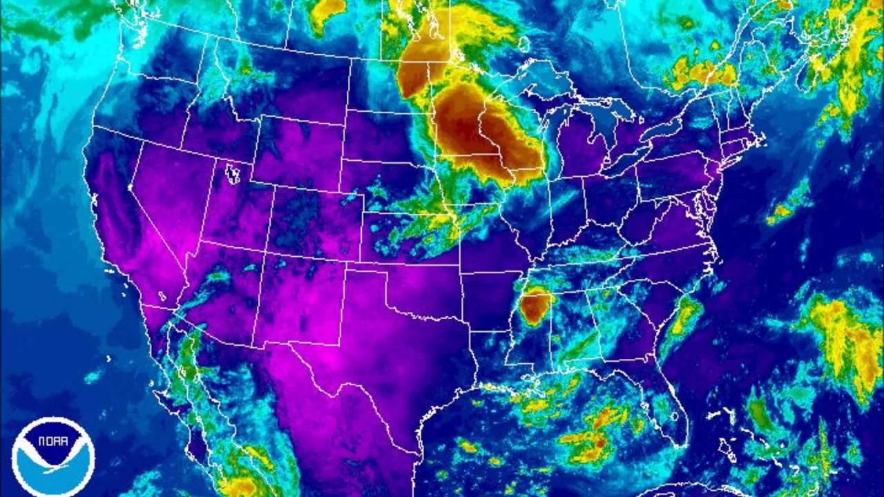 Infrared Weather Map Youtube