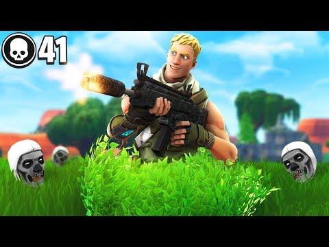 41 KILLS sitting in a bush