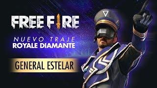 NUEVA SKIN DE FREE FIRE: GENERAL ESTELAR