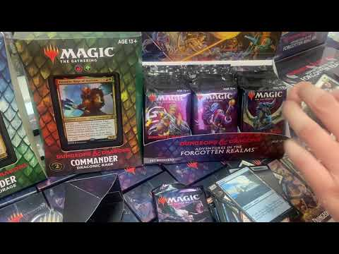 Dungeons & Dragons / Magic: the Gathering - Adventures Into Forgotten Realm PreRelease
