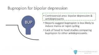 bupropion psychopharmacology