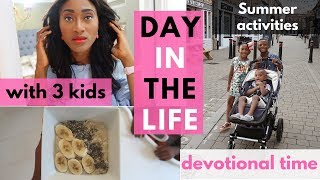 DITL OF A MUM | SUMMER ACTIVITIES  & BIBLE STUDY IDEAS FOR KIDS