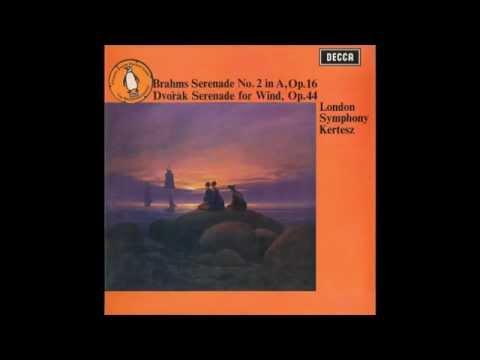 Dvořák Serenade for wind, Op. 44   LSO / Kertesz