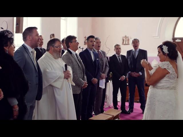 Flash Mob Wedding Ceremony - Catholic Style!!